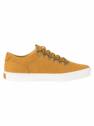 Timberland Wheat Nubuck Adventure 2.0 Cupsole Alpine Oxford Trainers