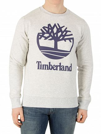 Timberland Grey Graphic Sweatshirt