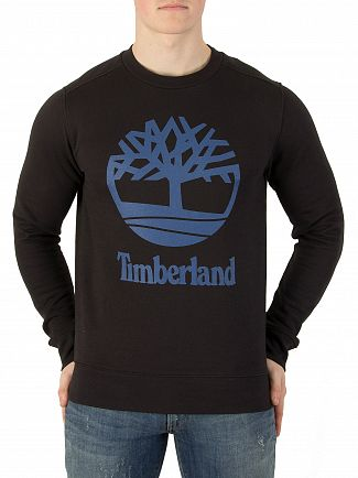 Timberland Black Graphic Sweatshirt