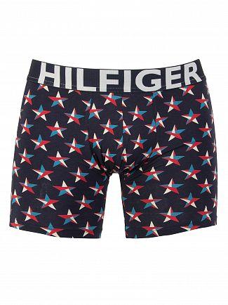 Tommy Hilfiger Navy Blazer Bold Colour Stars Boxer Briefs