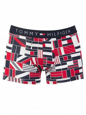 Tommy Hilfiger Tango Red Icon Flagblock Trunks