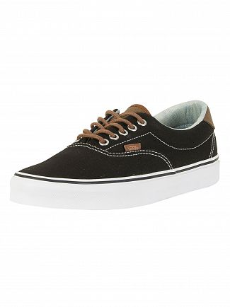 Vans Black/Acid Denim C&L Era 59 Trainers