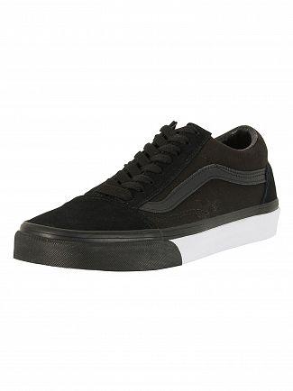 Vans Black/True White Old Skool Trainers