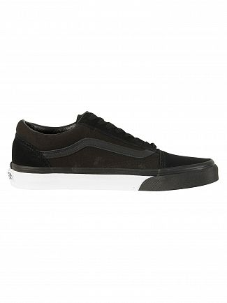Vans Black/True White Old Skool Trainers