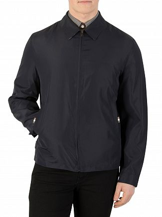 Aquascutum Navy Cliff Harrington Jacket