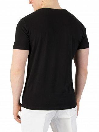 Calvin Klein Black Relaxed Crew T-Shirt