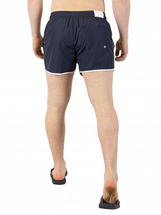 Calvin Klein Blue Shadow Short Runner Swim Shorts