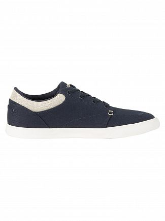 Lacoste Navy Bayliss 218 CAM Trainers