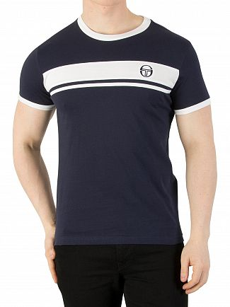 Sergio Tacchini Navy Master Archivio T-Shirt