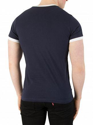 Sergio Tacchini Navy Supermac T-Shirt