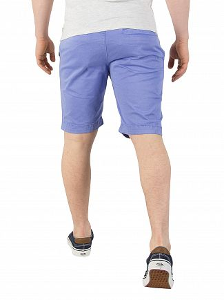 Superdry Hyper Charge Blue International Chino Shorts