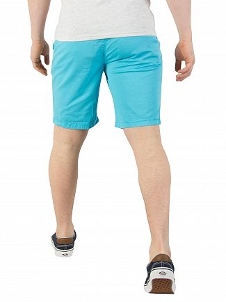 Superdry Hyper Blue Sunscorched Chino Shorts