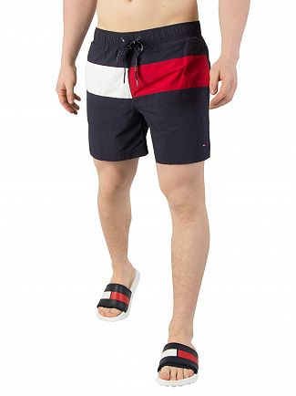 Tommy Hilfiger Navy Blazer Medium Drawstring Swim Shorts