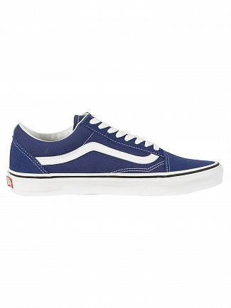 Vans Estate Blue/True White Old Skool Trainers