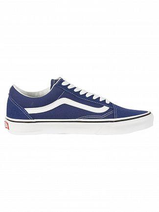 Vans Estate Blue/True White Old Skool Trainers