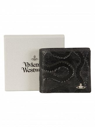 Vivienne Westwood Black Belfast Credit Cards Holder