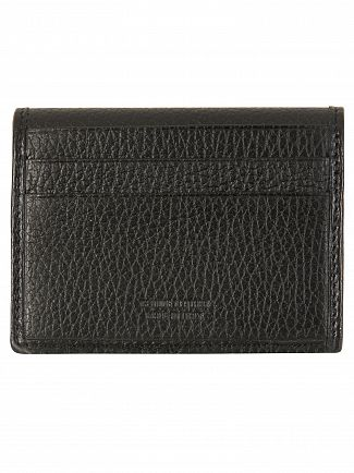 Vivienne Westwood Black Milano Small Horizontal Cards Holder