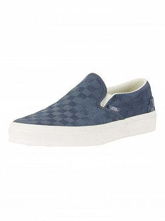 Vans Vintage Classic Slip-On Checker Emboss Trainers