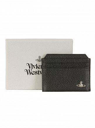 Vivienne Westwood Black Milano Slim Card Holder