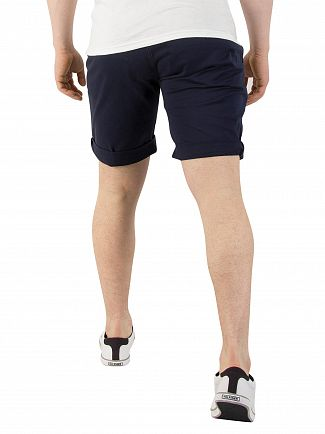 Tommy Jeans Black Iris Basic Straight Freddy II Shorts