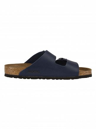 Birkenstock Blue Arizona Two Strap Sandals