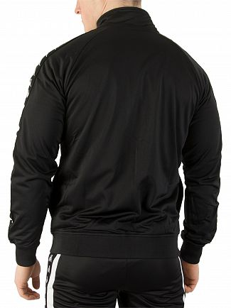 Kappa Black/Black Anniston Slim Banda Track Jacket
