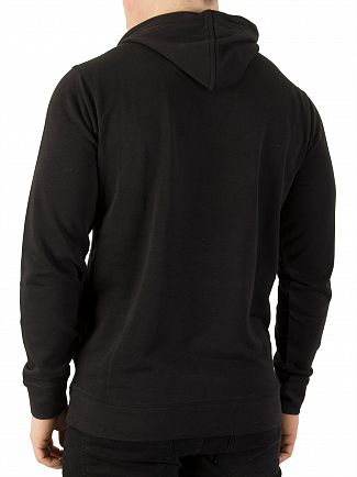 Kappa Black Authentic Zimim Slim Pullover Hoodie