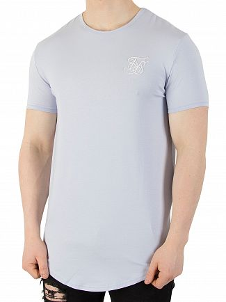 Sik Silk Blue Pastel Gym T-Shirt