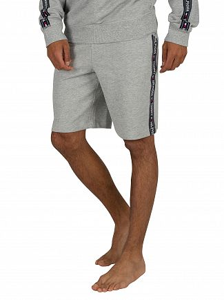 Tommy Hilfiger Grey Heather Tapping Sweat Shorts