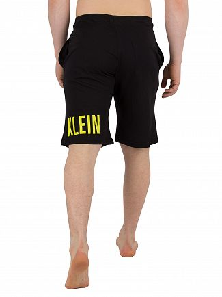 Calvin Klein Black Jersey Sweat Shorts