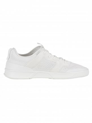 Lacoste White/White Explorateur Light 2181 CAM Trainers