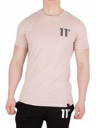 11 Degrees Dusty Pink Core T-Shirt