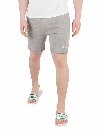 Calvin Klein Grey Heather Terry Sweat Shorts