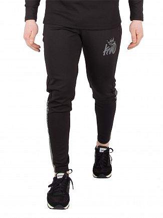 Kings Will Dream Black Foley Track Joggers