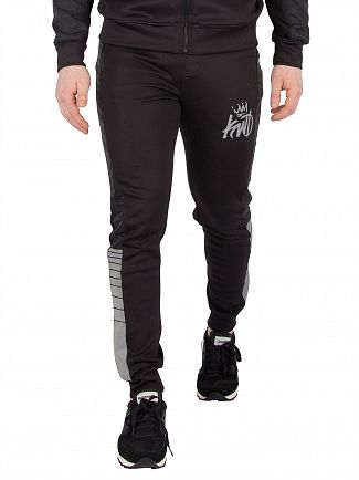Kings Will Dream Black Kommack Track Joggers
