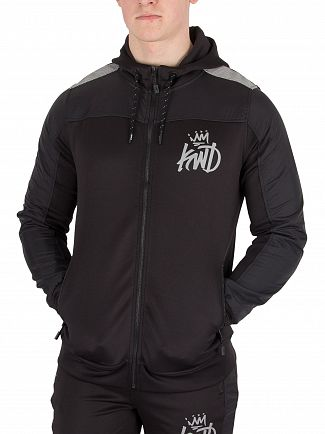 Kings Will Dream Black Kommack Zip Hoodie