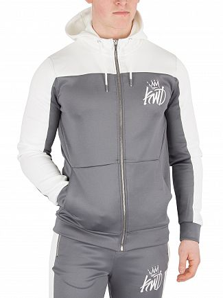 Kings Will Dream Grey Merton Poly Zip Hoodie