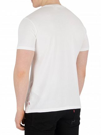 Levi's White Graphic T-Shirt