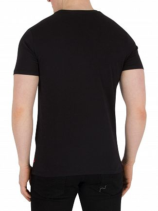 Levi's Black Graphic T-Shirt