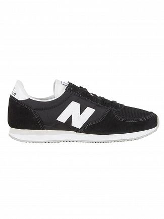 New Balance Black 220 Suede Trainers