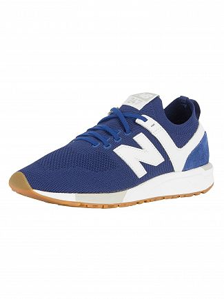 New Balance Atlantic/White 247 Mesh Trainers