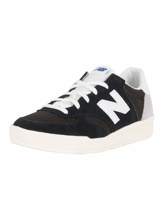 New Balance Uomo 300 scarpe da ginnastica in pelle scamosciata Nero