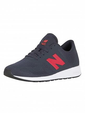 New Balance Navy/Red 420 Re-Engineered Trainers
