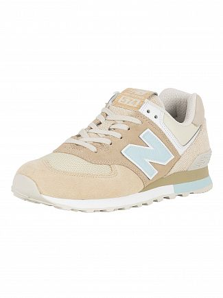 New Balance Hemp 574 Suede Trainers