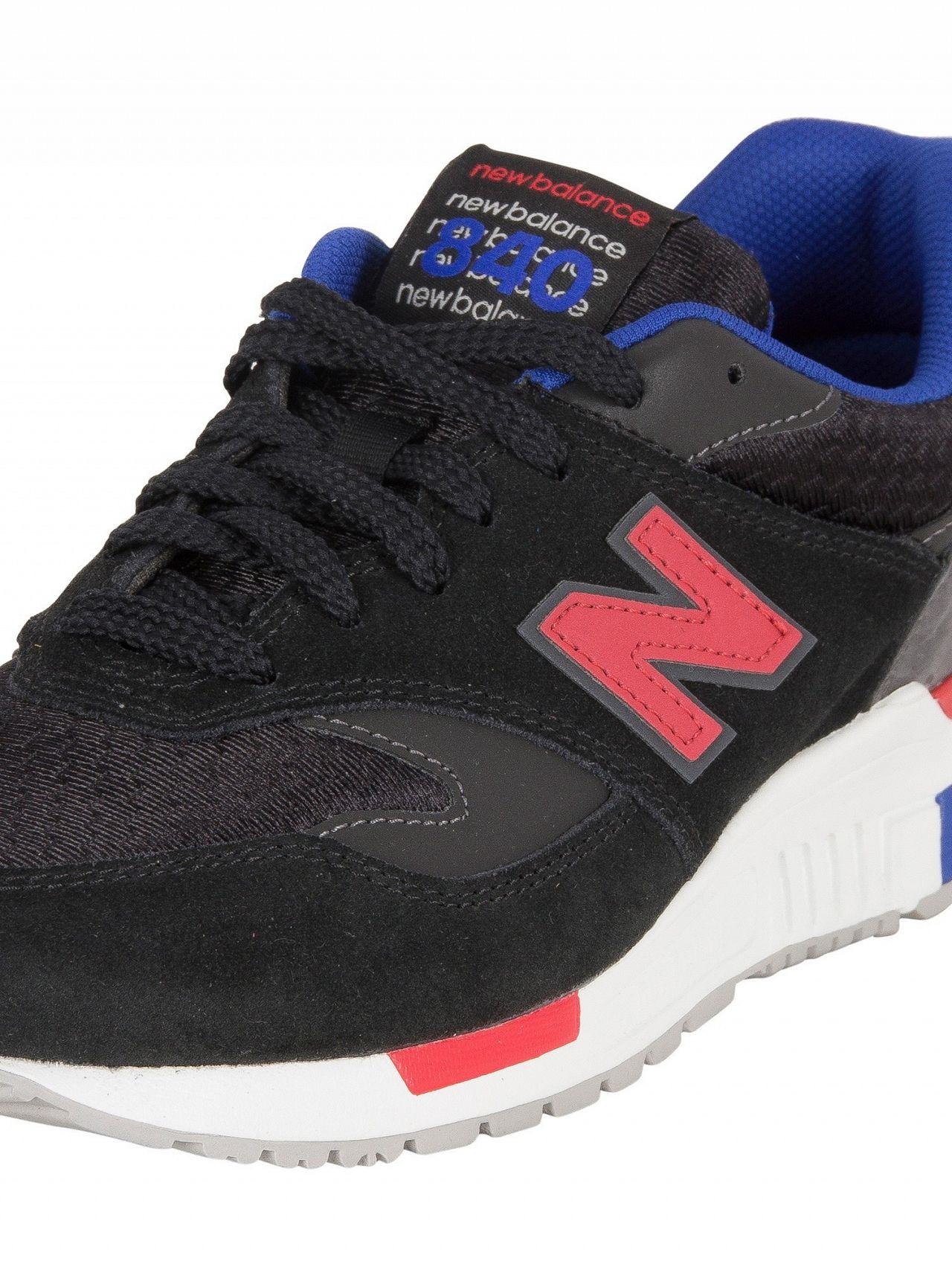 New Balance Black Magnet 840 Suede Trainers   Standout 99b5732f5b25