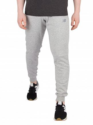 New Balance Grey Athletics Knit Joggers