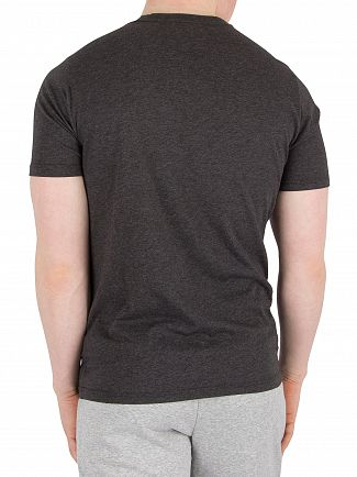 New Balance Black/ Charcoal Heather Tech T-Shirt
