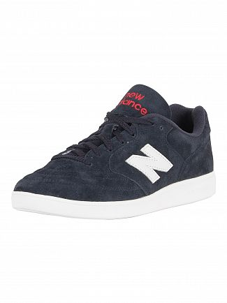 New Balance Navy Suede Trainers