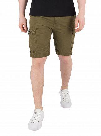 Schott Kaki Trolimpo30 Cargo Shorts