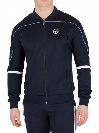 Sergio Tacchini Navy Amiscora Logo Track Jacket